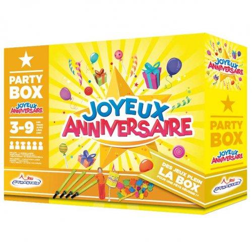 Party Box Joyeux Anniversaire