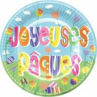 6 Assiettes Joyeuses Pâques