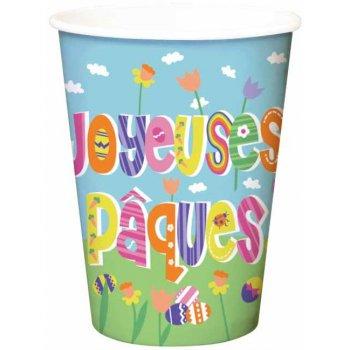 6 Gobelets Joyeuses Pâques