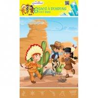 Contient : 1 x 6 Pochettes Cadeaux Indiens et Cowboys