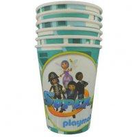 Contient : 1 x 6 Gobelets Super 4 Playmobil