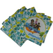 20 Serviettes Super 4 Playmobil