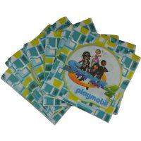 Contient : 1 x 20 Serviettes Super 4 Playmobil