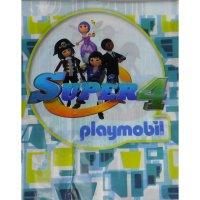 Contient : 1 x Nappe Super 4 Playmobil