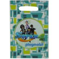 Contient : 1 x 6 Pochettes Cadeaux Super 4 Playmobil