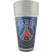 6 Grands Gobelets Foot PSG