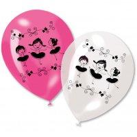 Contient : 1 x 6 Ballons Ballerine Jolie