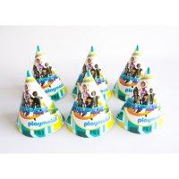 Contient : 1 x 6 Chapeaux Super 4 Playmobil