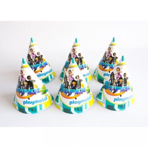 6 Chapeaux Super 4 Playmobil