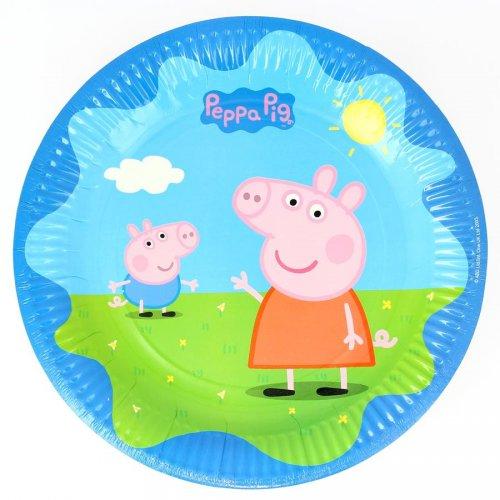 6 Assiettes Peppa Pig