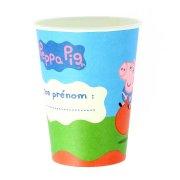 6 Gobelets Peppa Pig