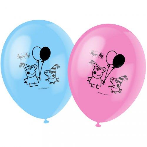 6 Ballons Peppa Pig