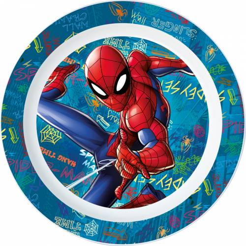 Assiette Plastique Spider-Man (22 cm)