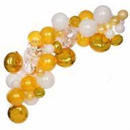 Kit Arche de 70 Ballons - Or
