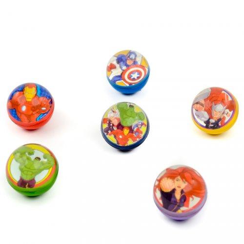 1 Balle Rebondissante Avengers Asssemble - Medium (4,5 cm)