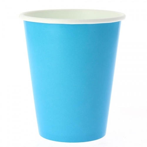 8 Gobelets Compostable Turquoise
