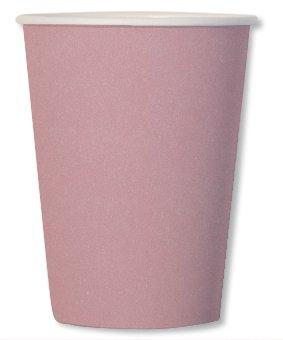 8 Gobelets Compostable Rose