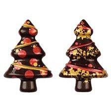 2 Sapins 3D - Chocolat Noir