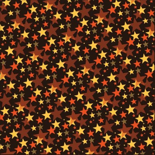 1 Feuille de transfert Alimentaire Lucky Star (pour chocolat)