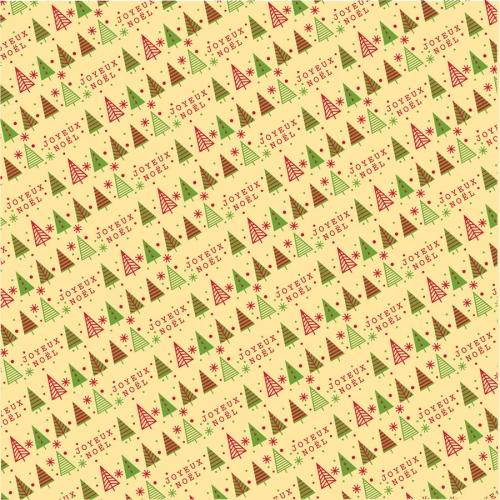 1 Feuille de transfert Alimentaire Sapin (pour chocolat)