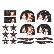 2 Kits Spécial Bûches de Noël - Chocolat Noir