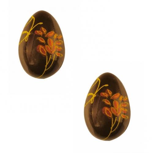 2 Œufs de Pâques Papillon (3,7 cm) - Chocolat