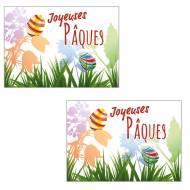 2 Plaquettes Joyeuses Pâques Tulipes - Azyme