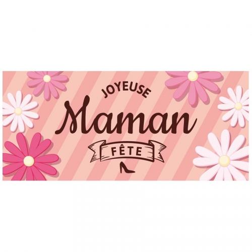 1 Plaquette Bonne Fête Maman (9 cm) - Azyme