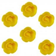 6 Mini Roses (3 cm) Azyme - Saveur Citron