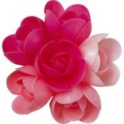 6 Petites Roses (4 cm) Azyme - Saveurs Fruits Rouges