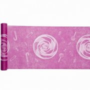 Chemin de table Candy Rose