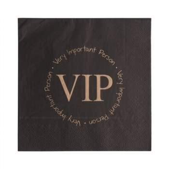 20 Serviettes VIP