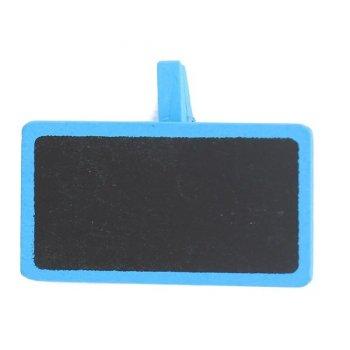 12 Pinces Mini ardoises Turquoise