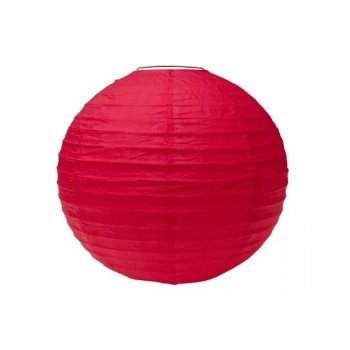 Boule Lampion géant Rouge