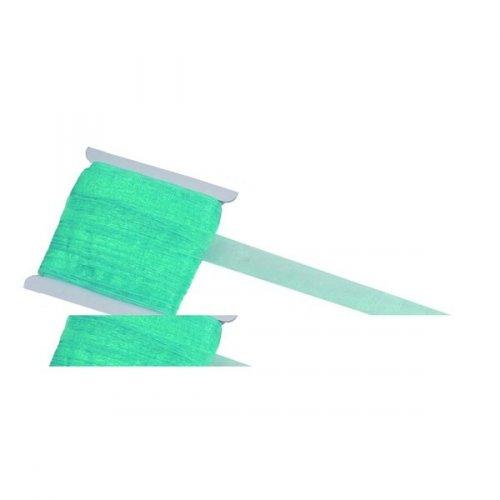 Ruban Organza Turquoise 20m