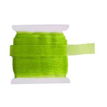 Ruban Organza Vert 20m