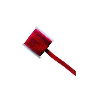 Ruban Organza Rouge 20m
