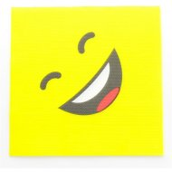 20 Serviettes Smiley LOL
