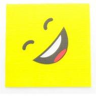 20 Serviettes Smiley LOL