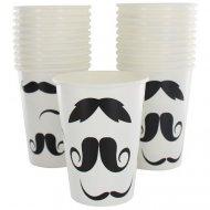 10 Gobelets Moustache