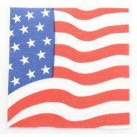 Contient : 1 x 20 Serviettes USA