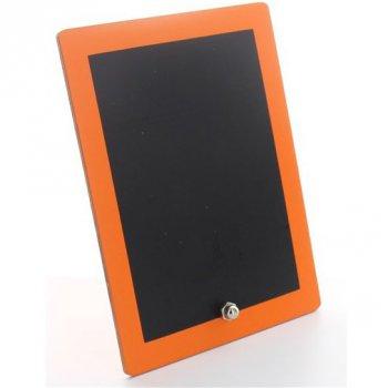 mini tableau noir bord orange pour l 39 anniversaire de votre enfant annikids. Black Bedroom Furniture Sets. Home Design Ideas