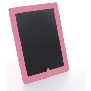 Mini Tableau Noir Bord Rose bonbon