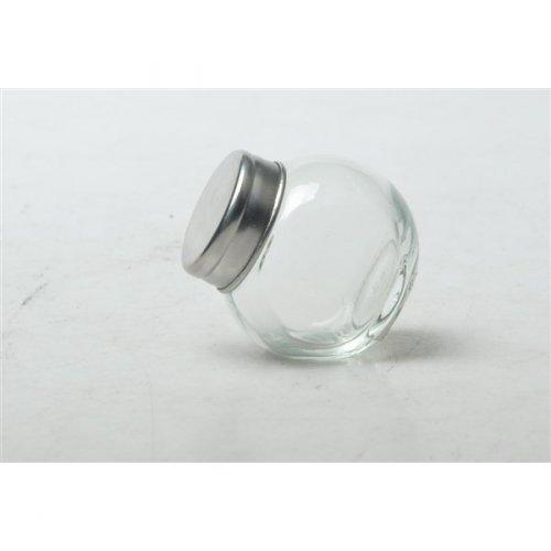 12 Minis Pots Transparents