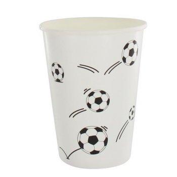 10 Gobelets Football Fan