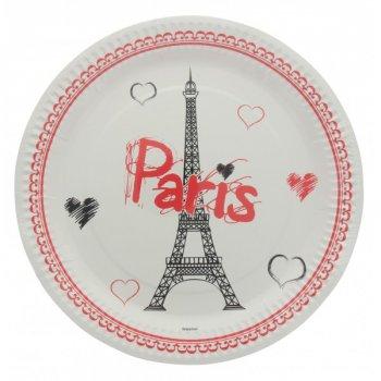 10 Assiettes Paris Tour Eiffel