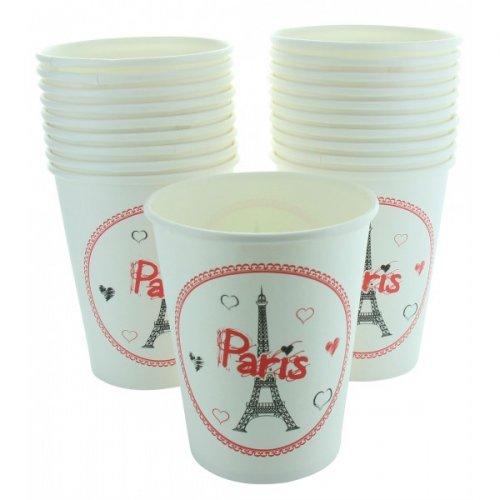 10 Gobelets Paris Tour Eiffel