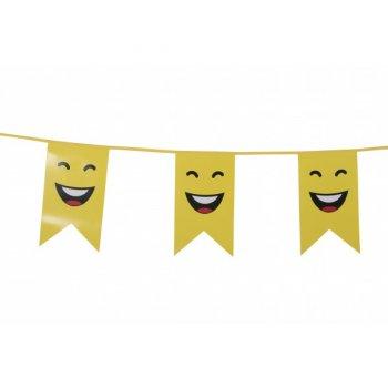 Guirlande Fanions Smiley LOL