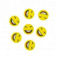 Gros Confettis Emoji Fun ( 2,5 cm)