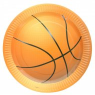 10 Assiettes Basket-ball